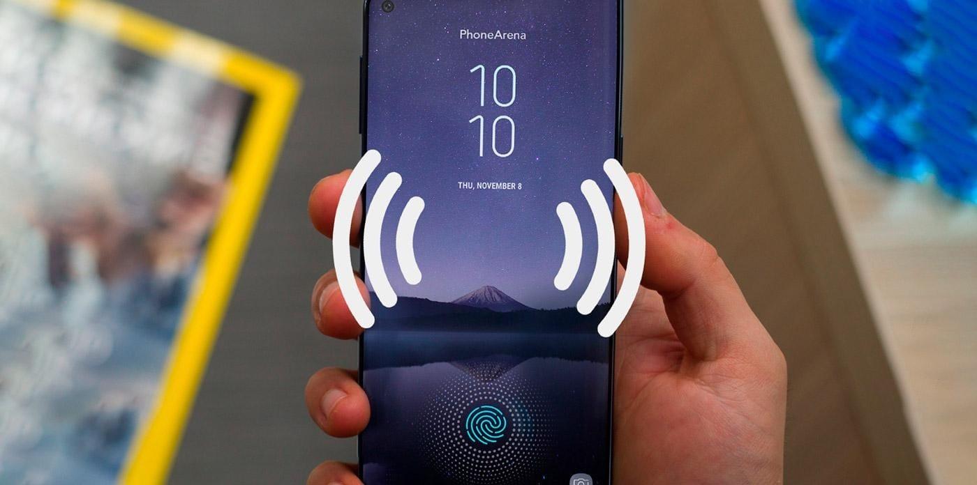 Samsung превратит дисплеи своих смартфонов в динамики