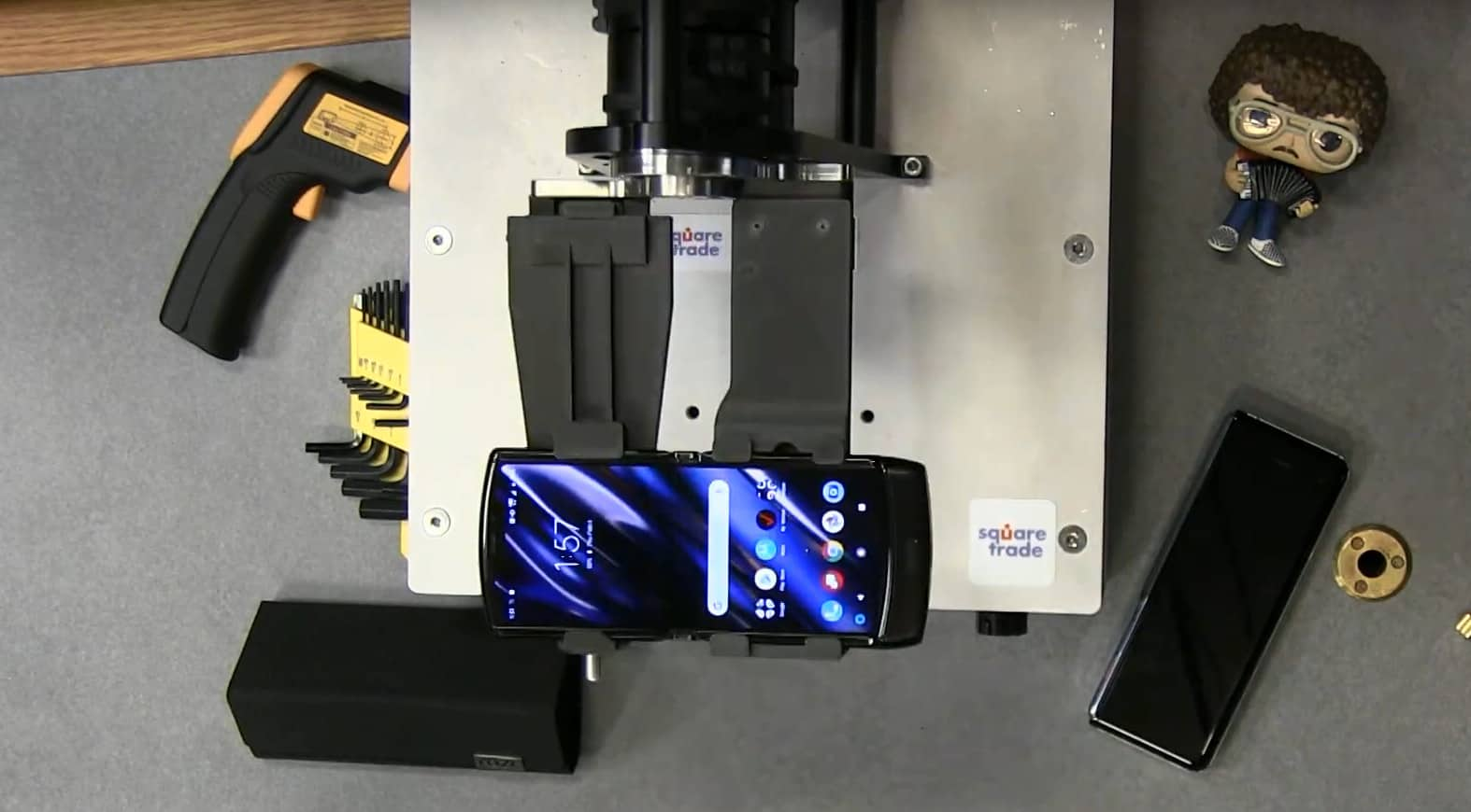 Тестирование Motorola RAZR