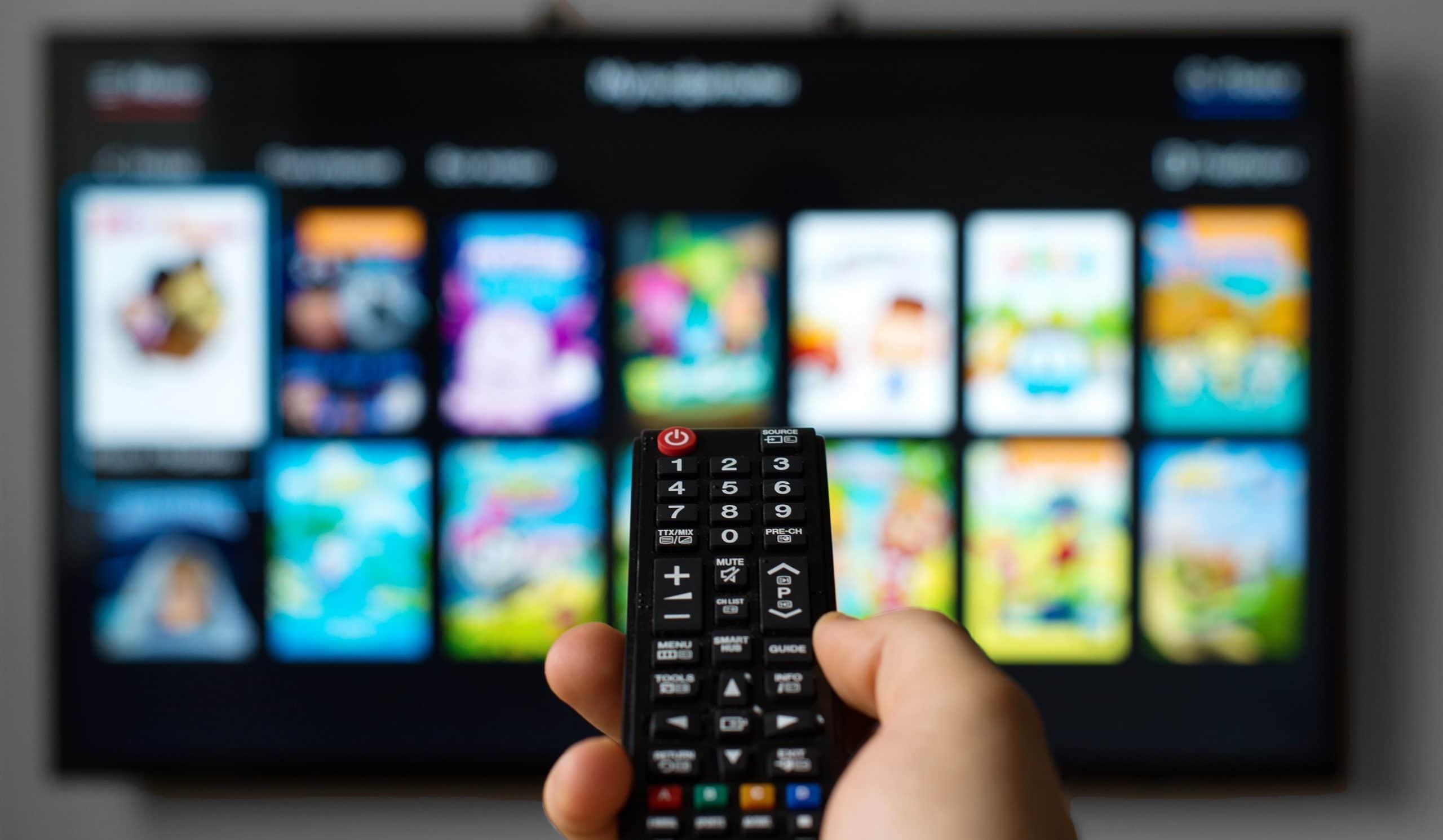 Онлайн-кино на телевизоре