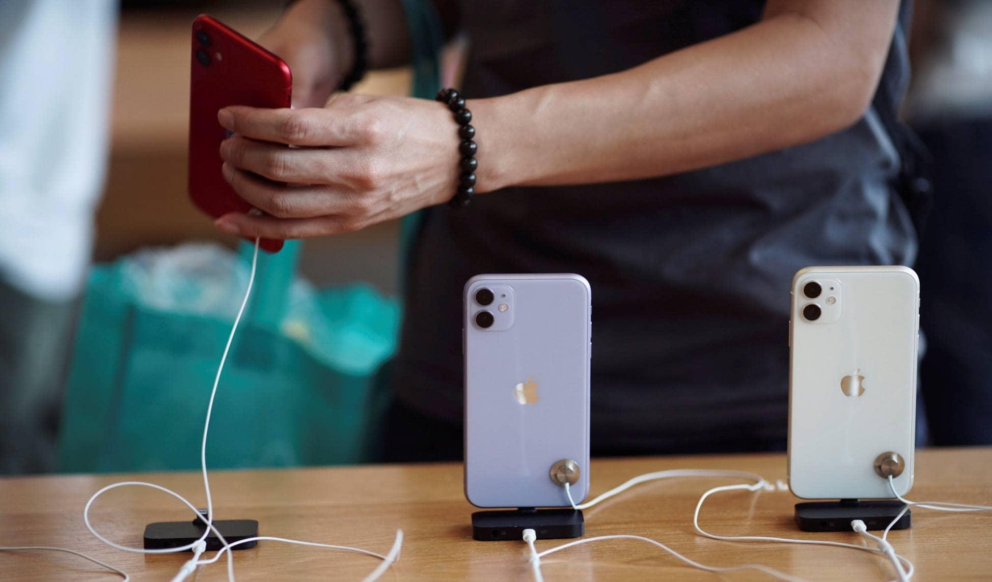 iPhone 11 в магазине