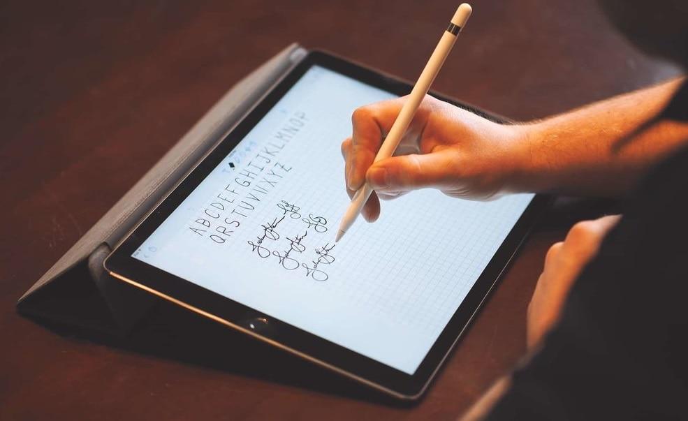 Рукописный ввод iPad
