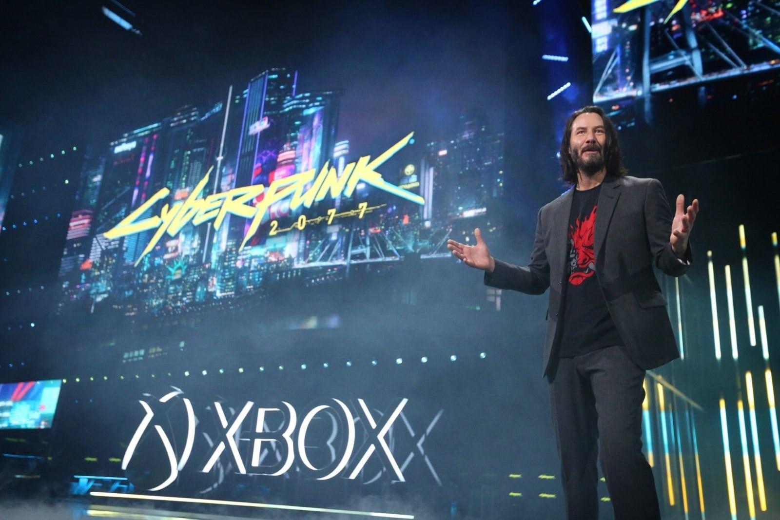 Киану Ривз на E3