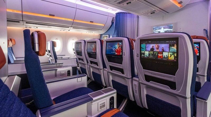 Салон Airbus A350