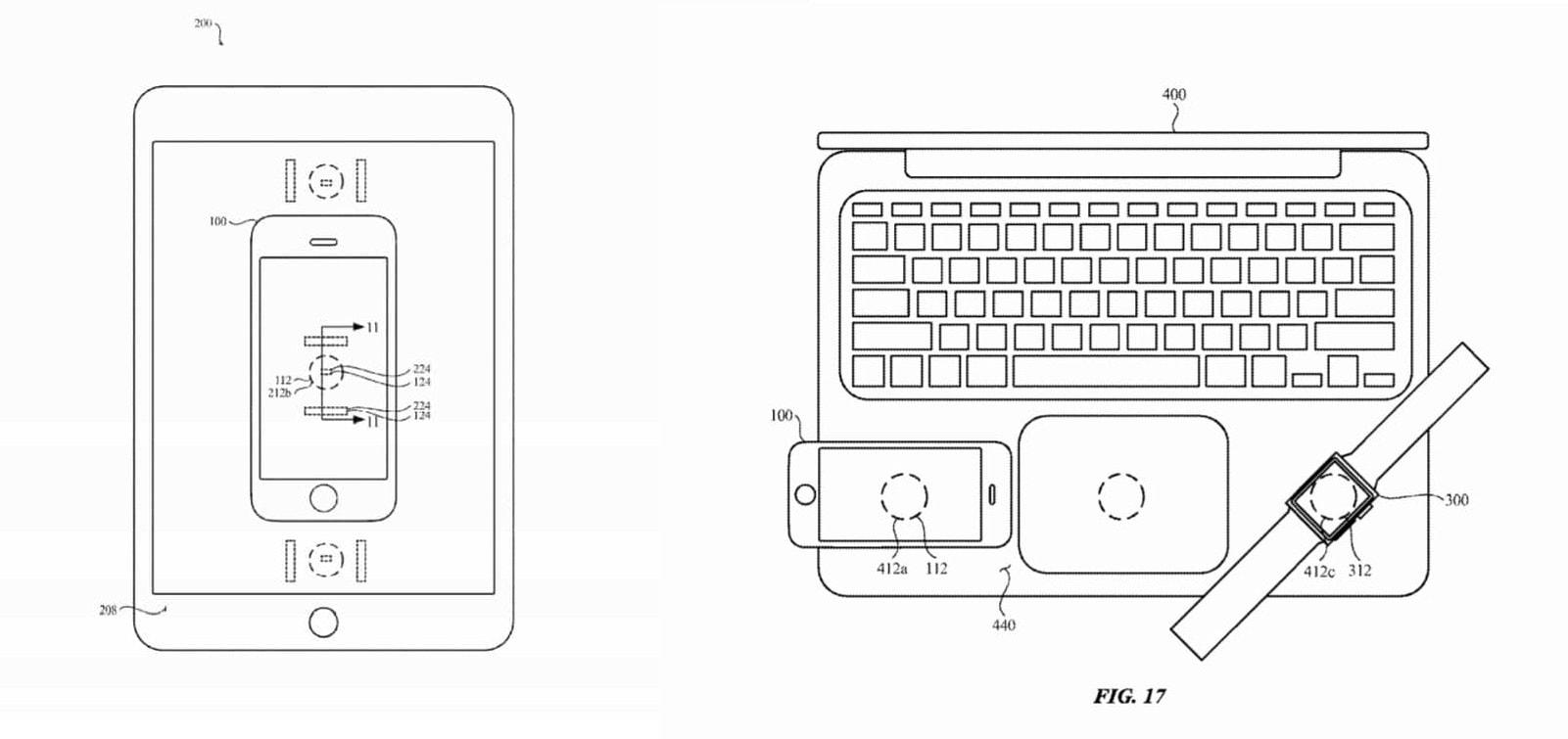В iPad и MacBook может появиться беспроводная зарядка других гаджетов