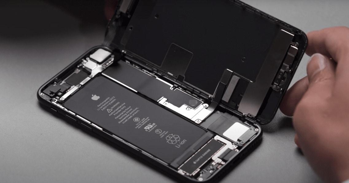 Разборка iPhone