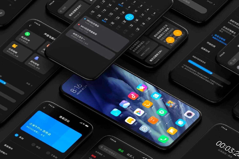 Xiaomi MIUI 12 темная тема