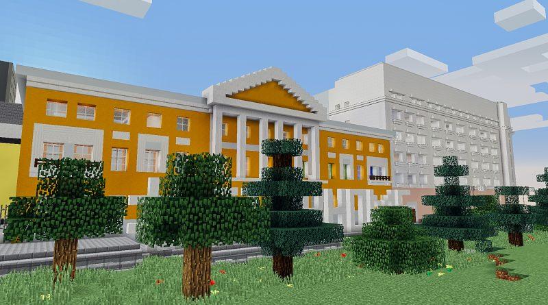 Московский вуз переехал в Minecraft