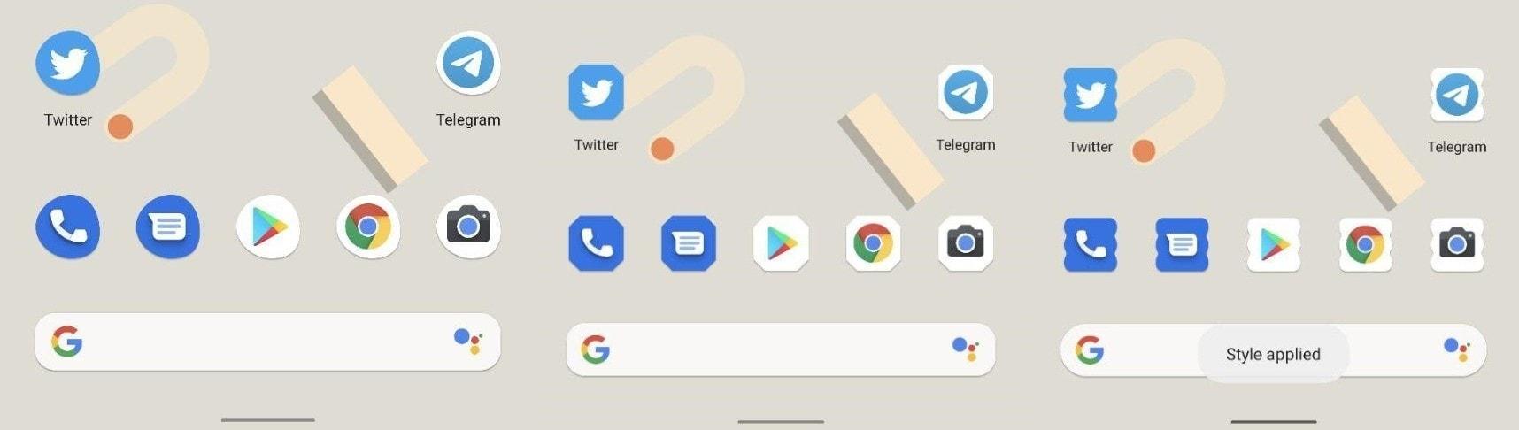 Новые иконки Android