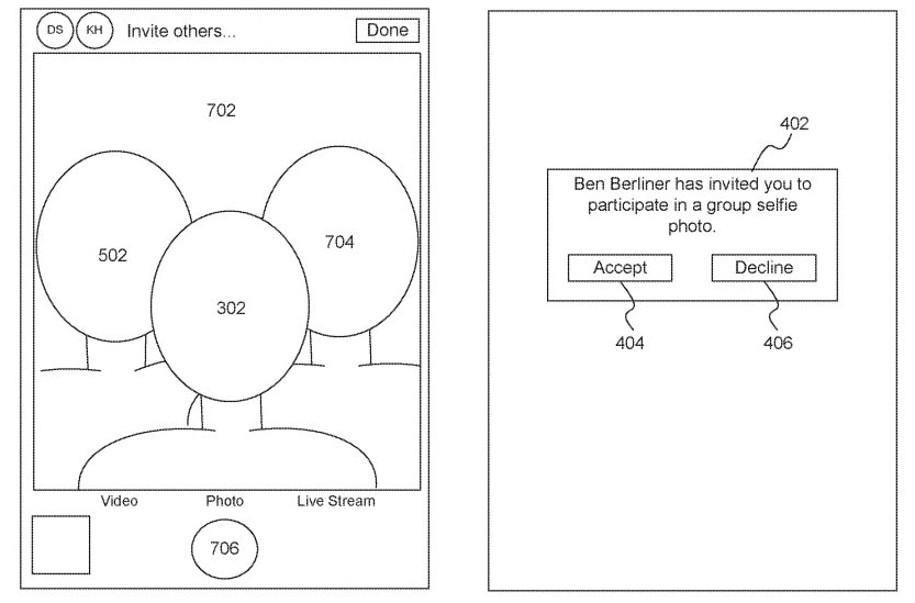 Патент на селфи Apple
