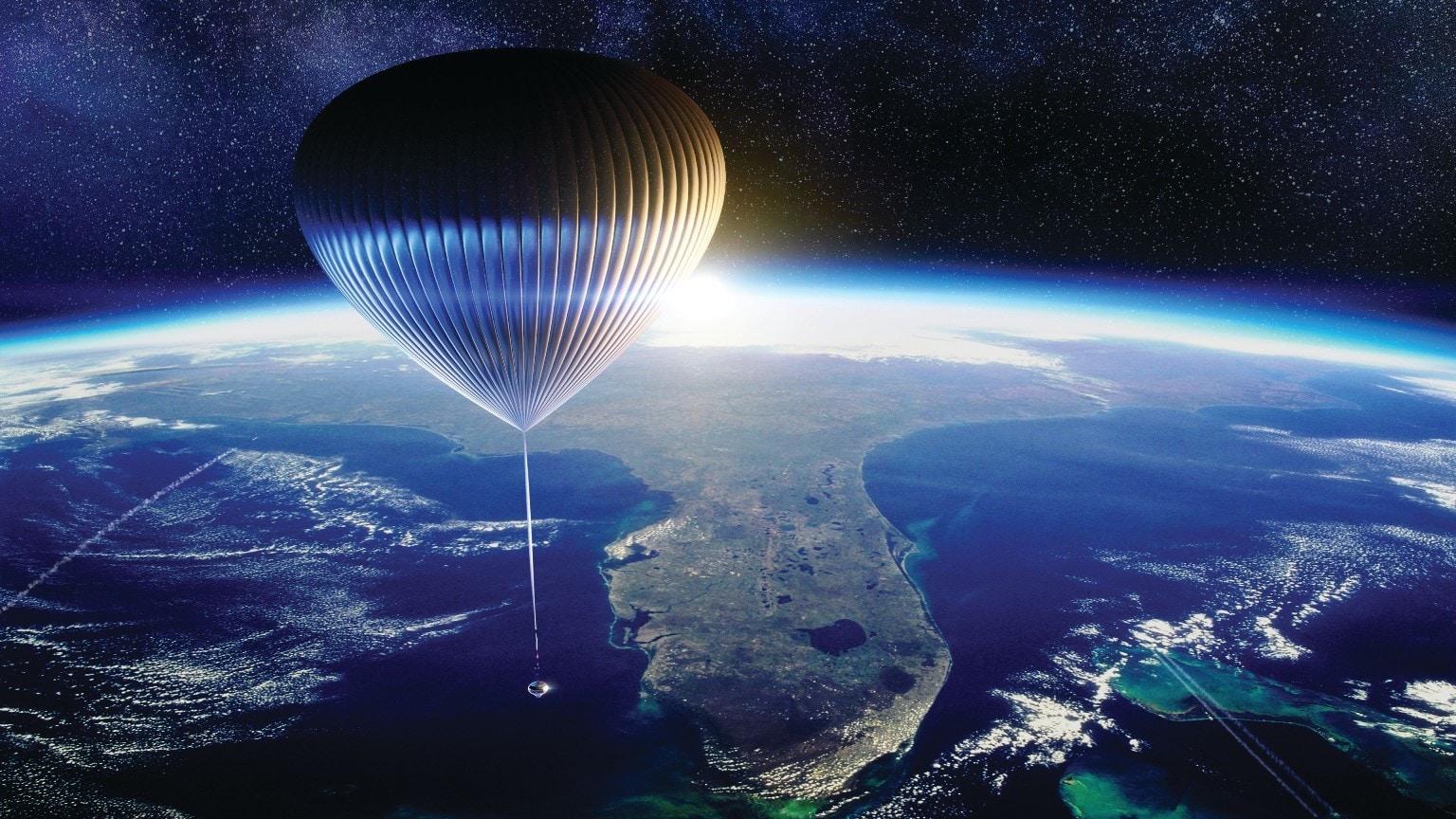 Space Perspective воздушный шар