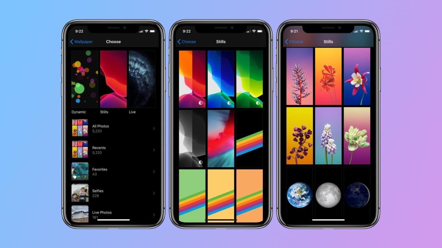 Обои iOS 14