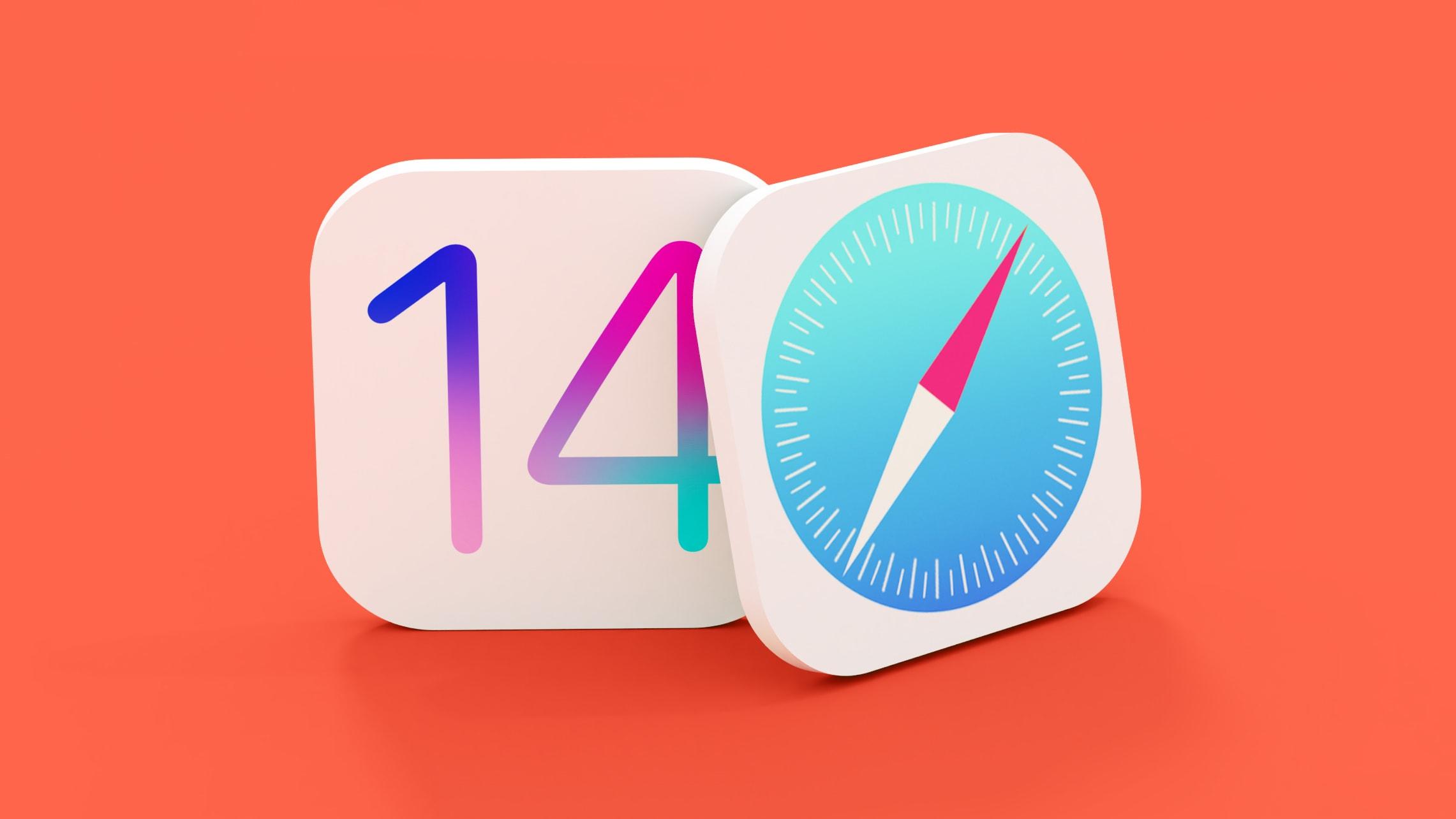 iOS 14 Safari