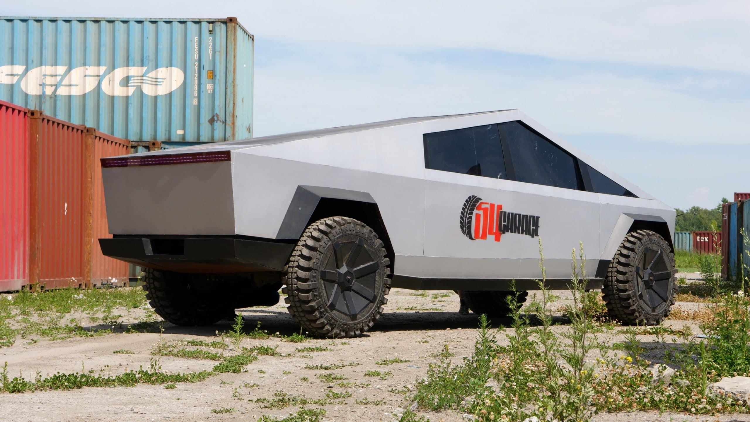 Tesla Cybertruck гараж 54