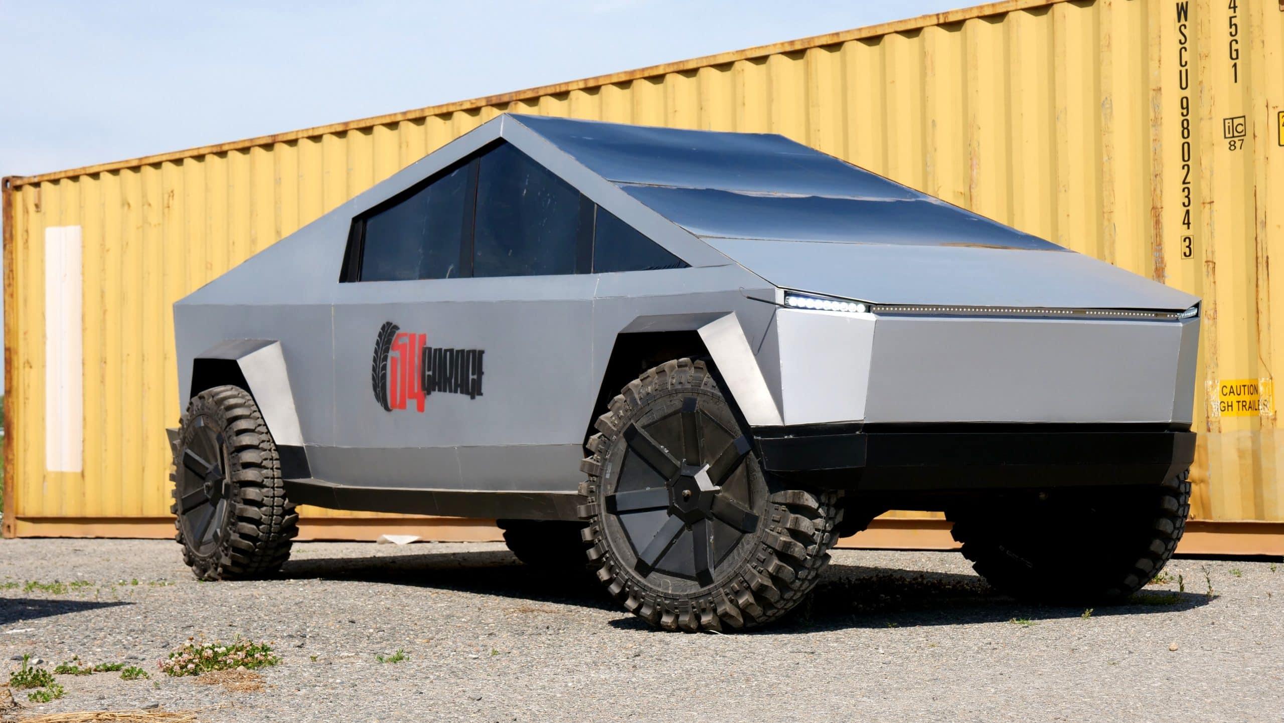 Tesla Cybertruck из России