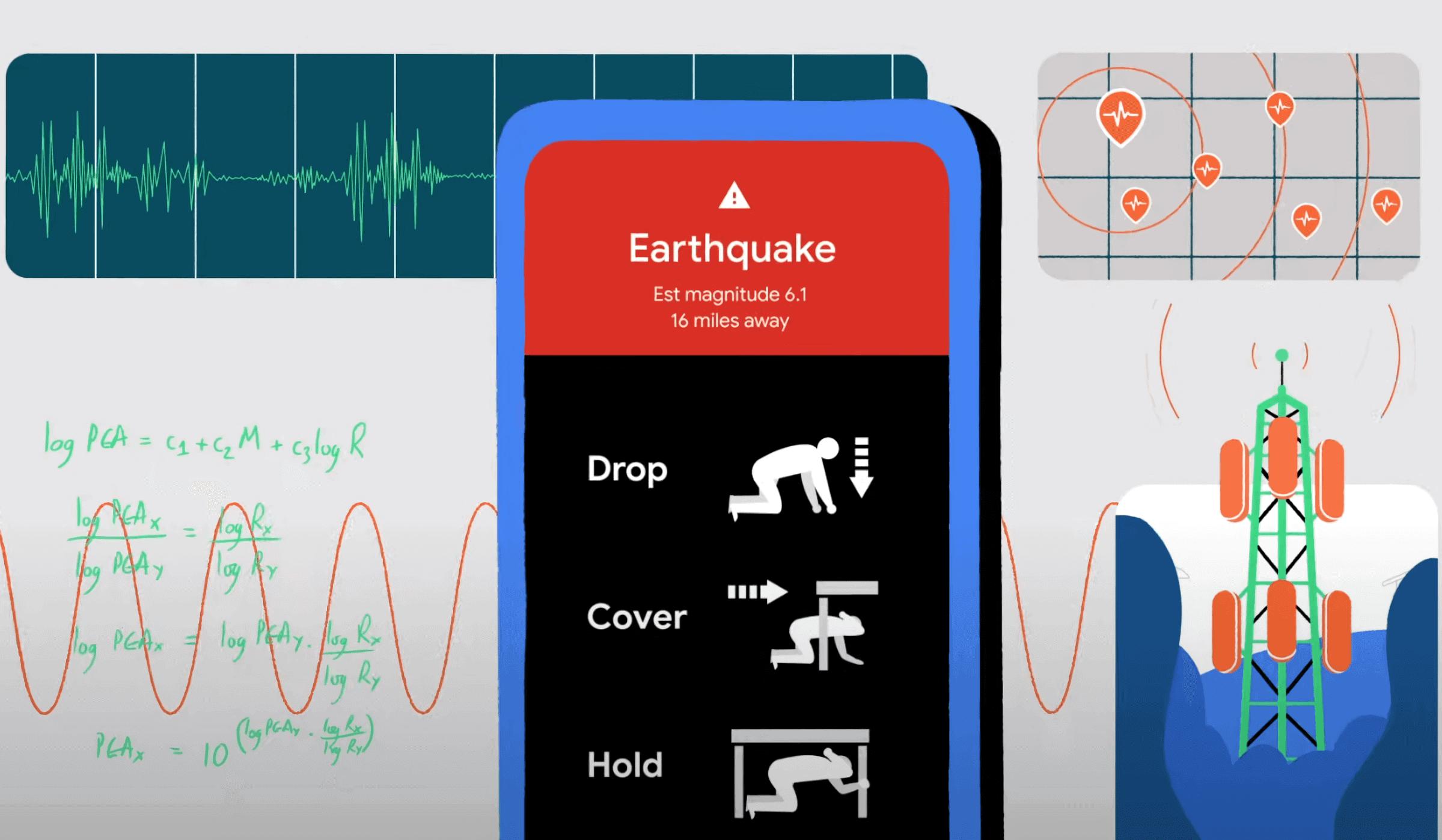 оповещение о землетрясении