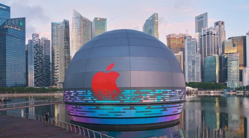 Apple Store в Сингапуре