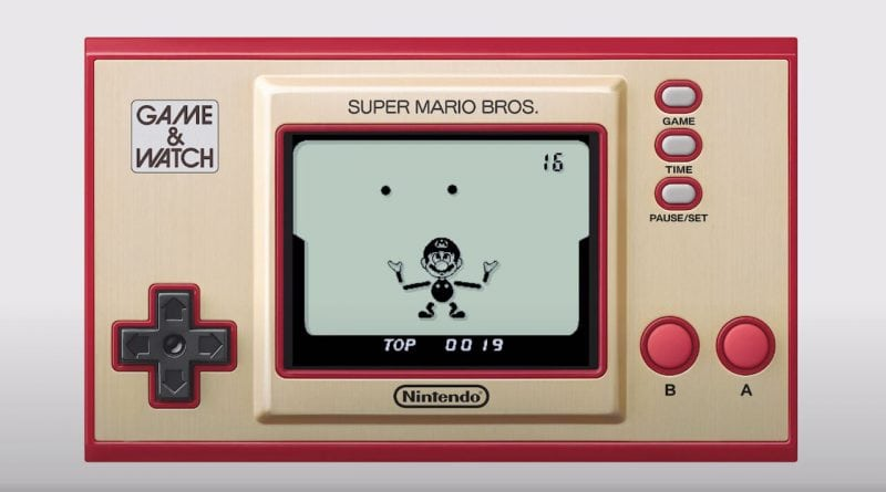 Game Watch Mario