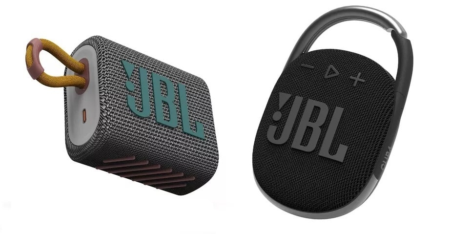 JBL Go 3 и Clip 4