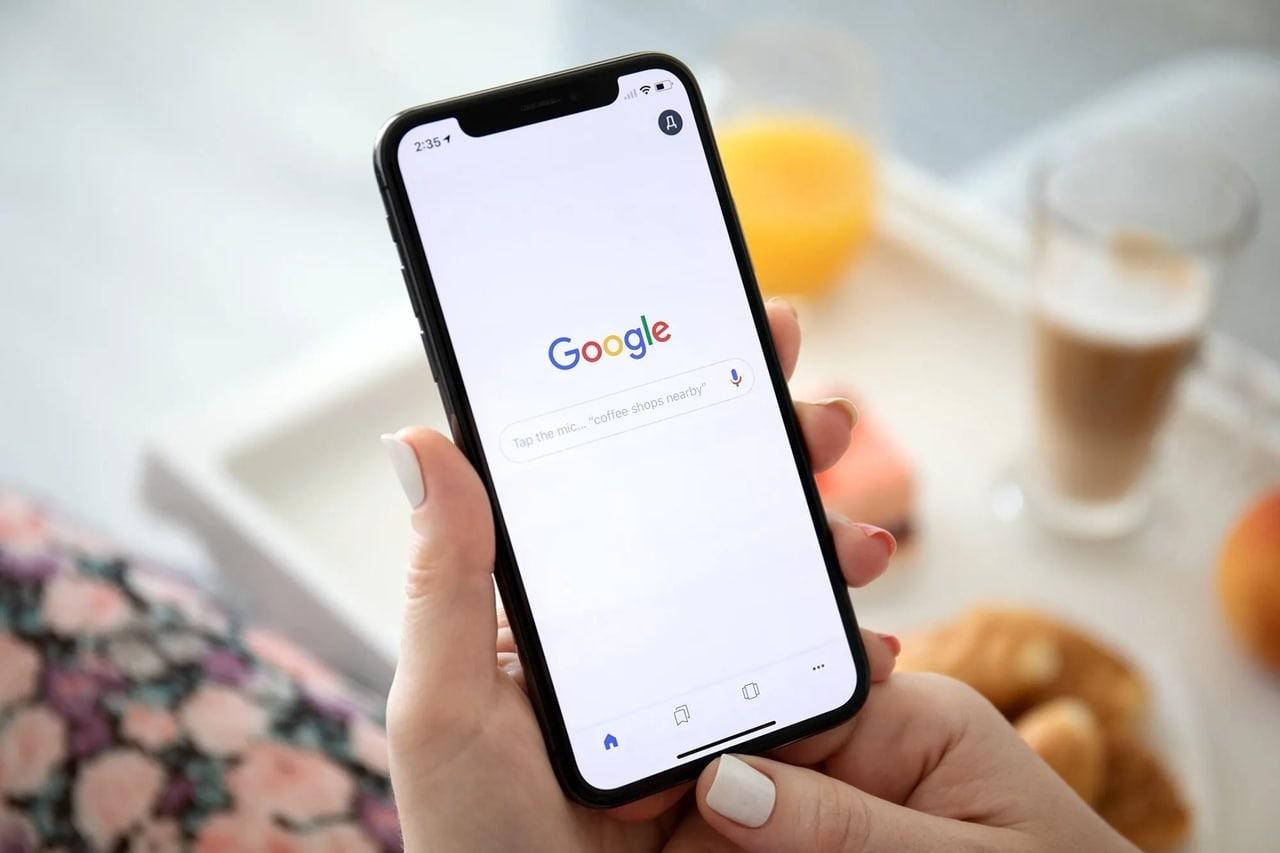 поиск Google на iPhone