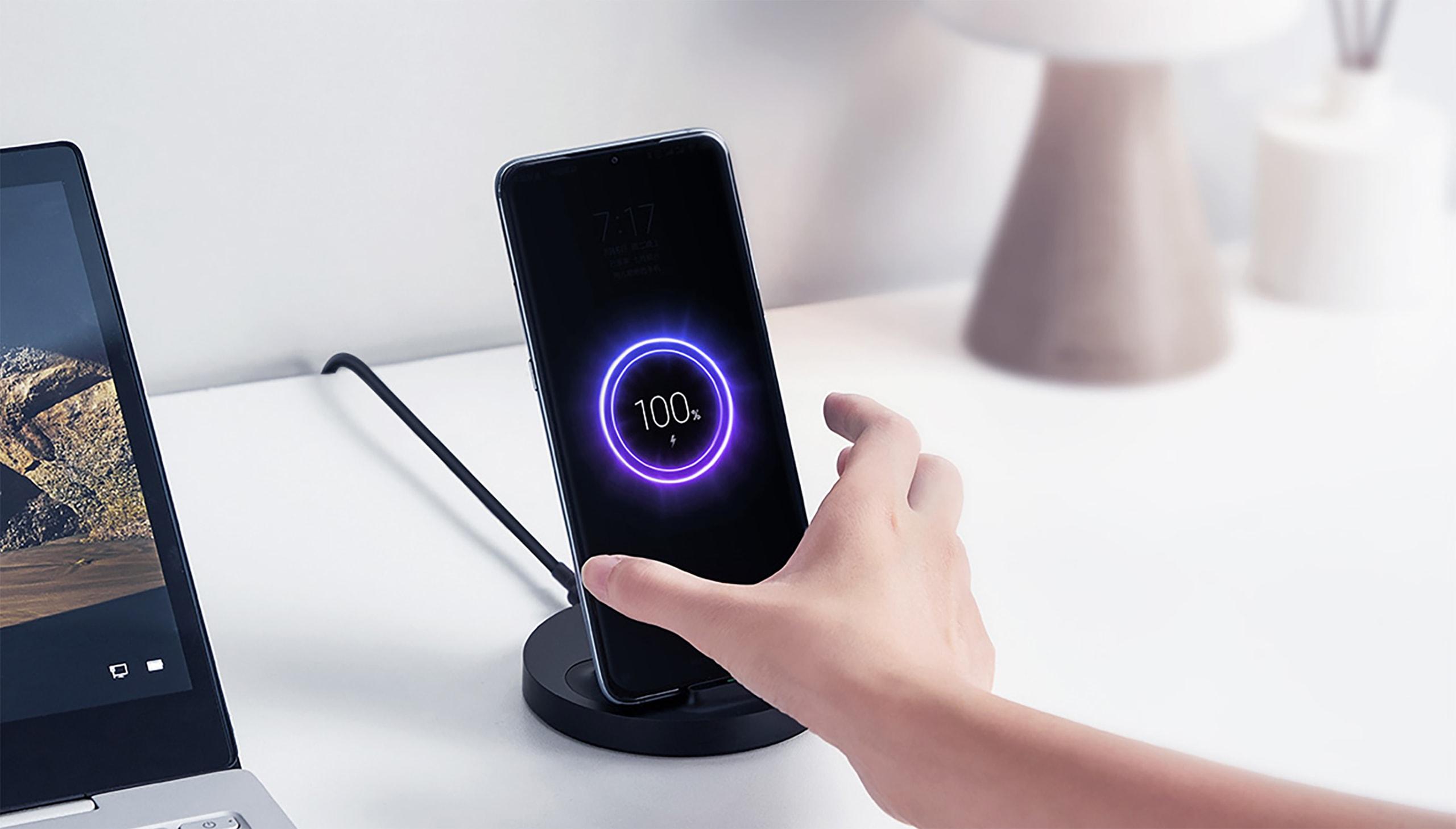 Xiaomi беспроводная зарядка 80 Вт