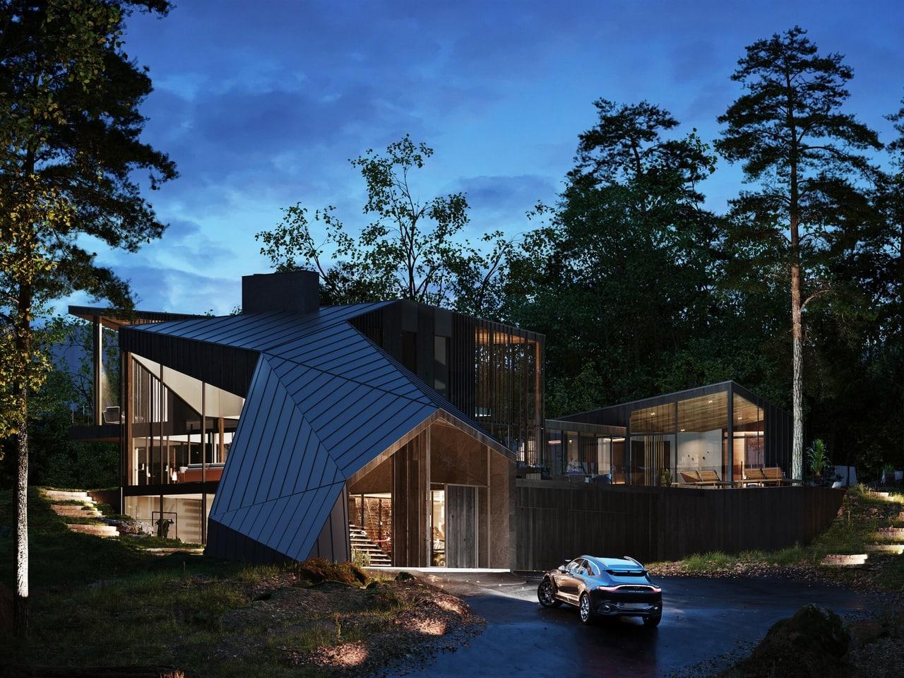 загородный дом Aston Martin