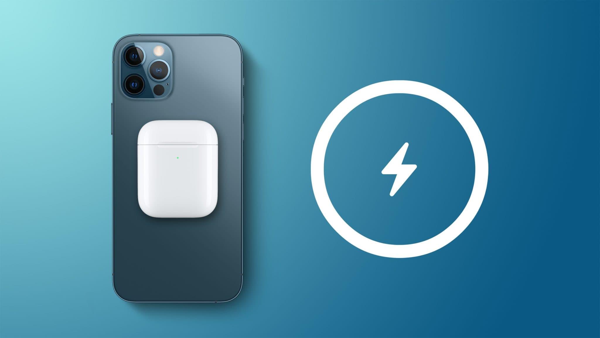 Обратная зарядка iPhone 12