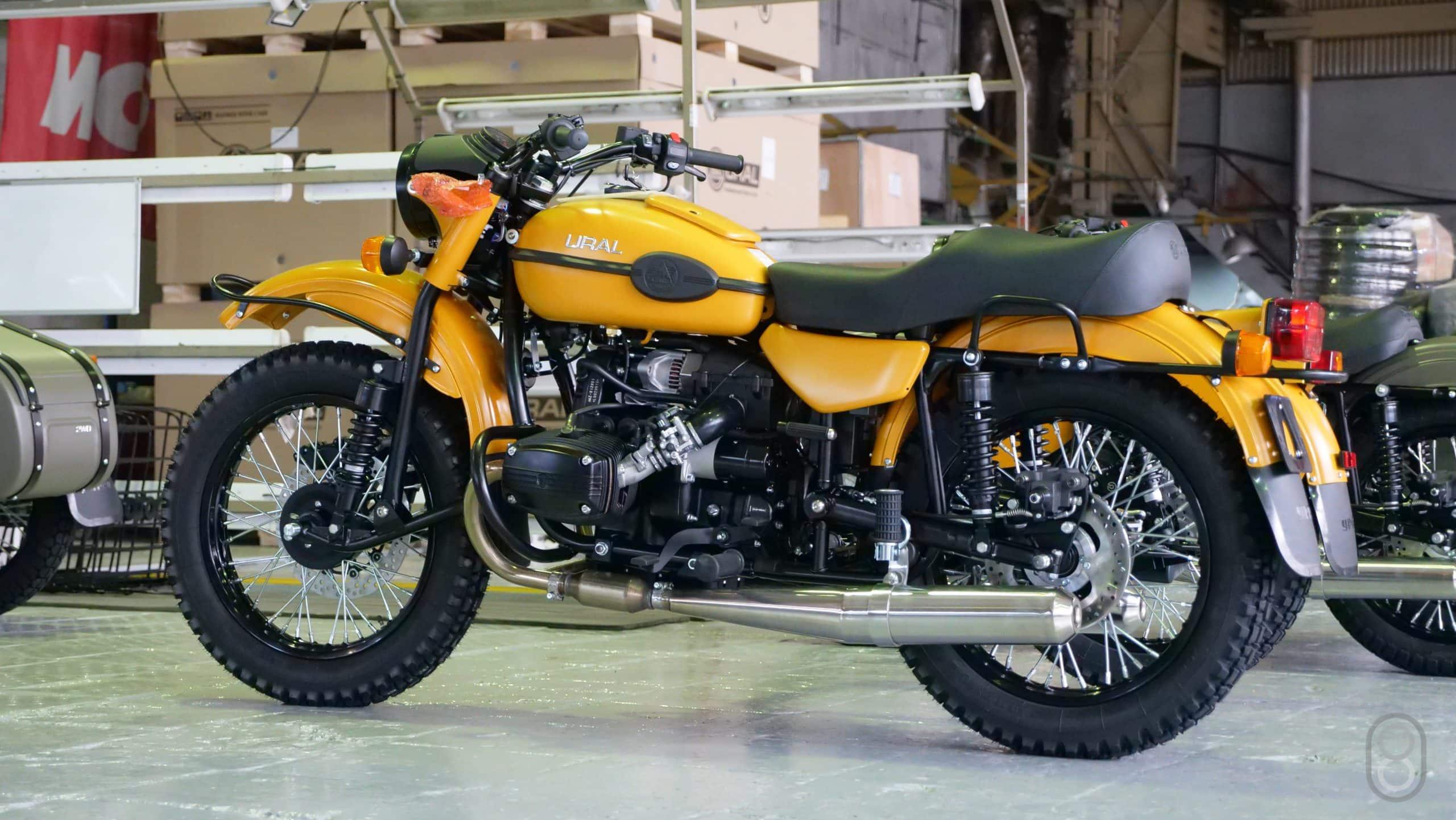 Сборка мотоцикла «Урал»