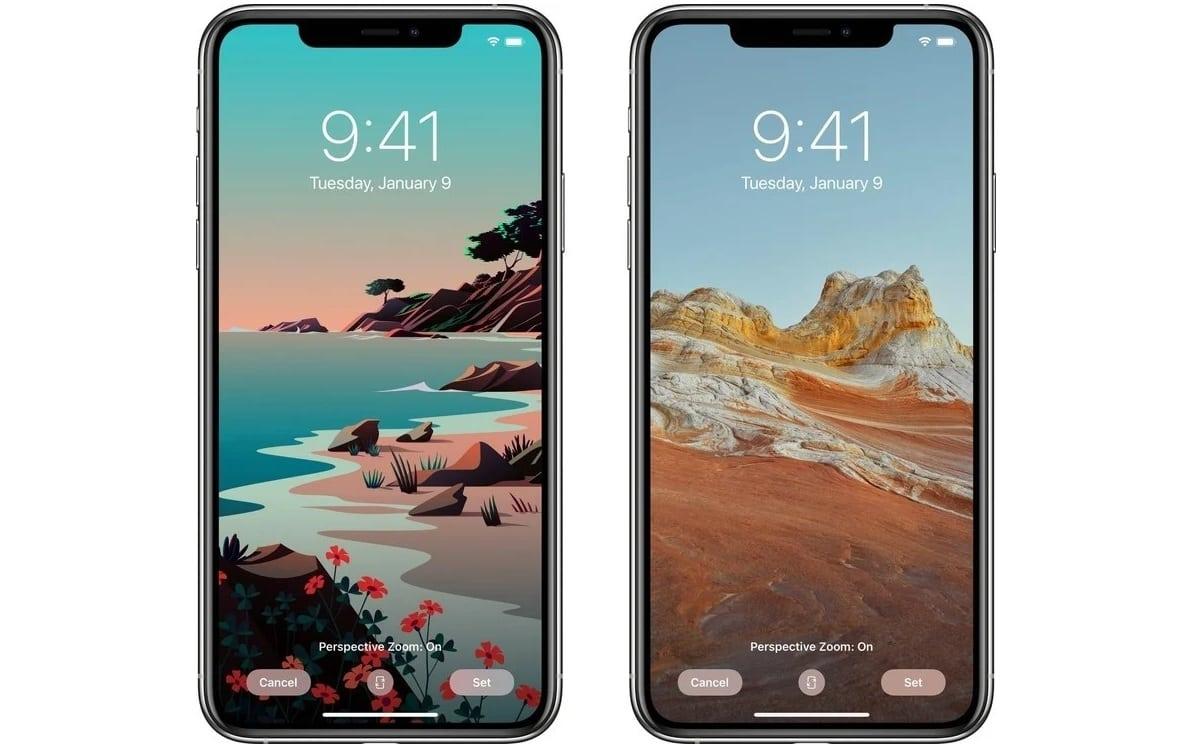 Обои iOS 14.2