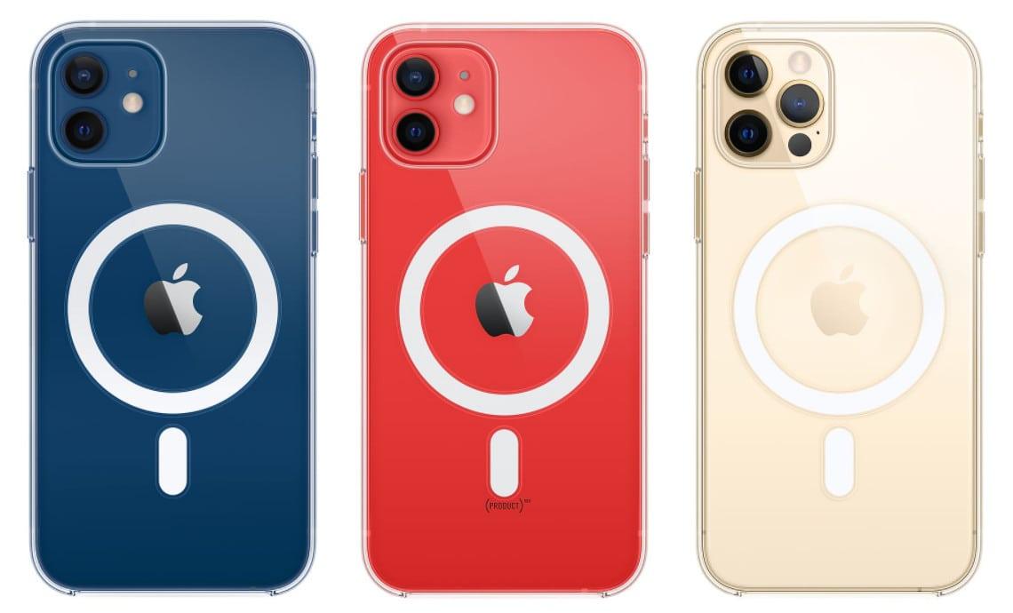 Новые зарядки, чехлы и кардхолдеры Apple для iPhone 12