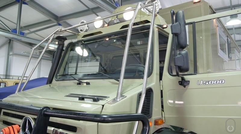 Автодом Mercedes-Benz Unimog