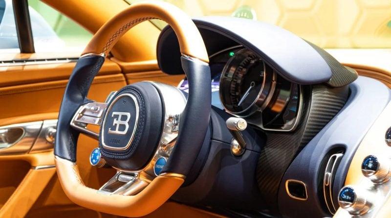 Bugatti Chiron в Москве